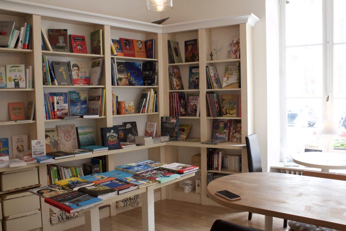 """Découverte de la libraire-café """"La Suite"""""""