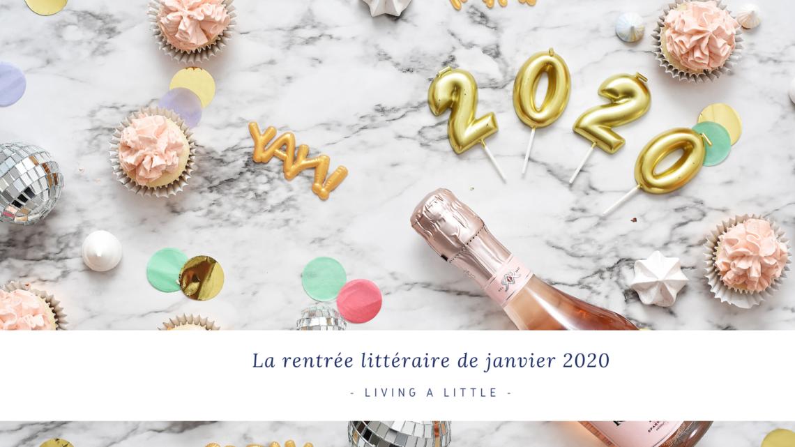 rentrée littéraire de janvier 2020