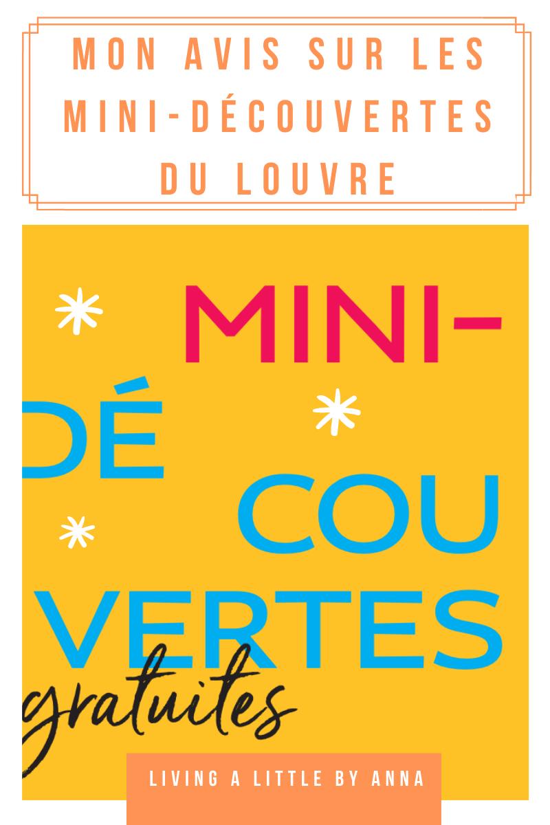 Les Mini-découvertes du Louvre